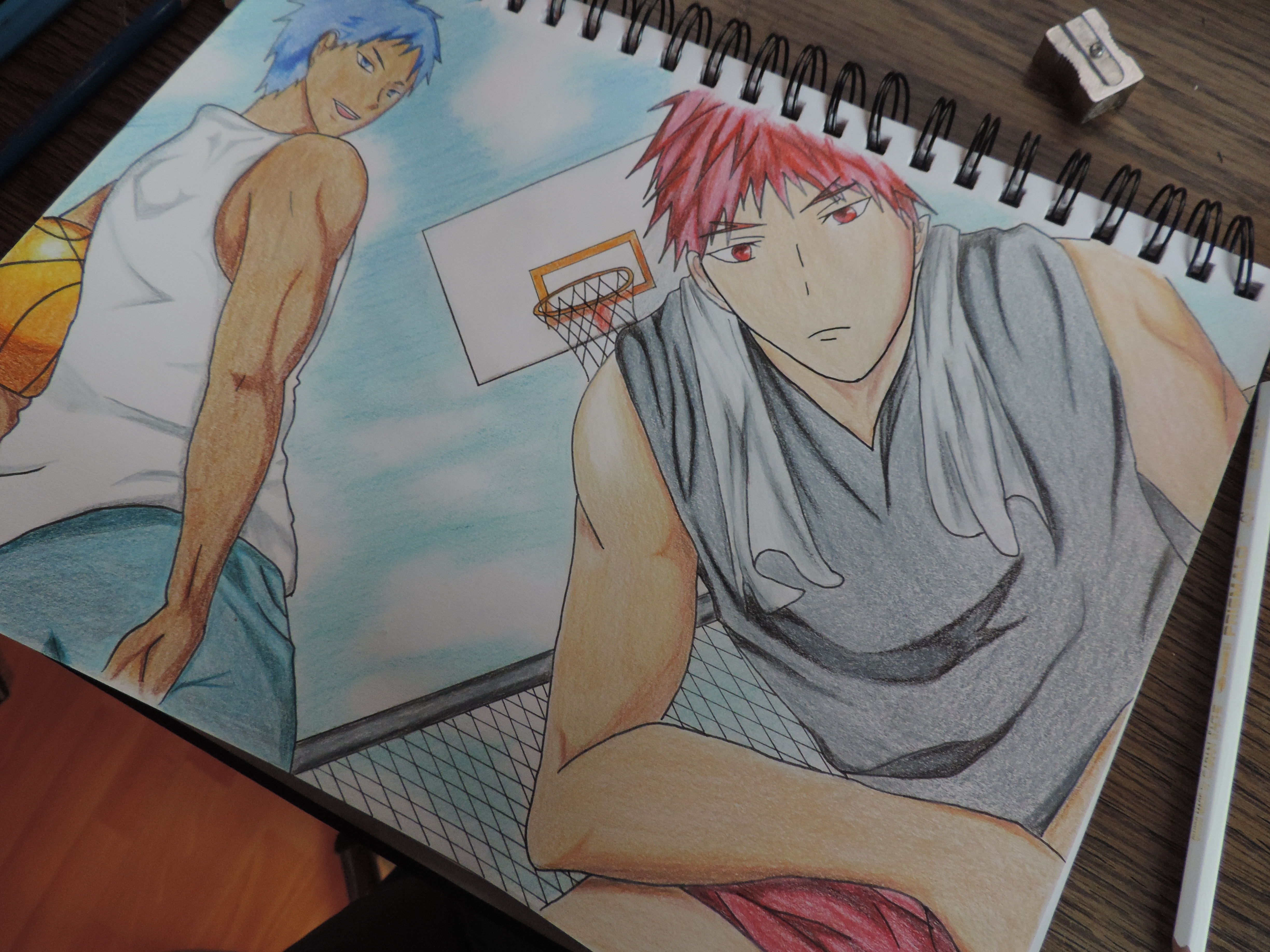 Drawingcolor Kagami Aomine Drawing Color By Tak17hiro On Deviantart