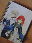 Akagami no Shirayukihime Drawing color Pencil