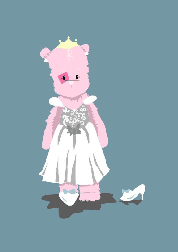 Cinderella Bear by SilverPen96