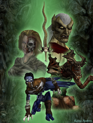 Soul Reaver Collage by RainaAudron
