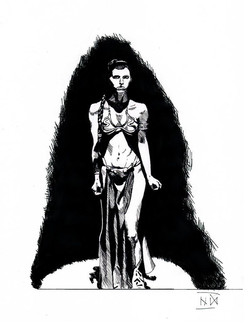 Slave Leia by SkandiSlaavi