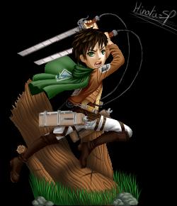 Eren Jaeger by Hinata-sf