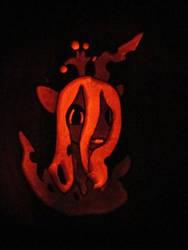 Chryssy in Pumpkin Form