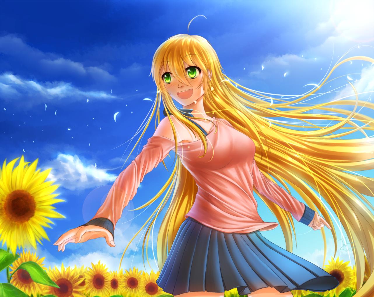 Sunflowers by Juh-Juh