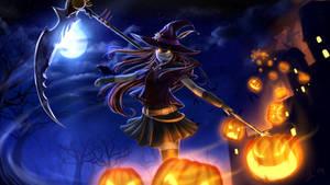 Happuh Halloweener! by Juh-Juh