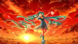 Hatsune Miku - Vermilion Sky