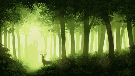 Forest by Juh-Juh