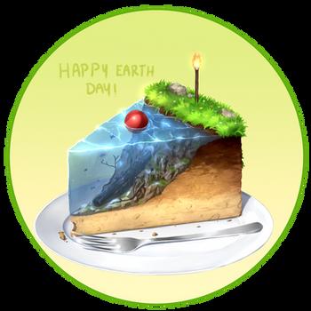 Earth Cake by Juh-Juh
