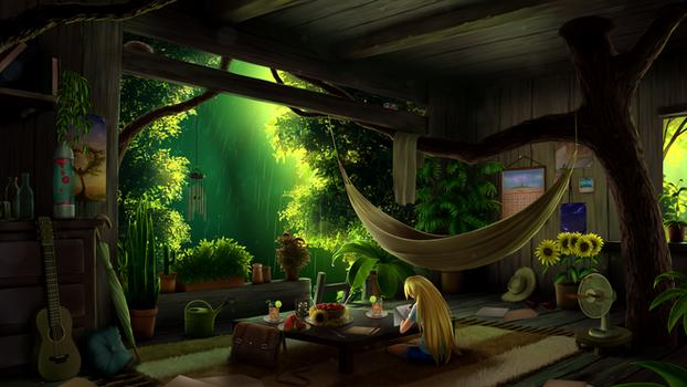 Treehouse - Summer Rain