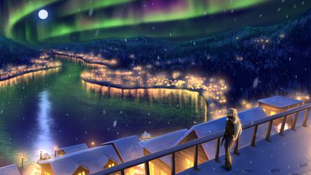 Upon the Night Sky
