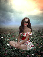 Strawberry lips star by Sweetlylou