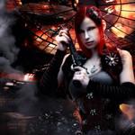 Steampunk war by Sweetlylou