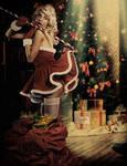 Vintage Christmas Pinup