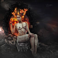 Hell gate guardian by Sweetlylou