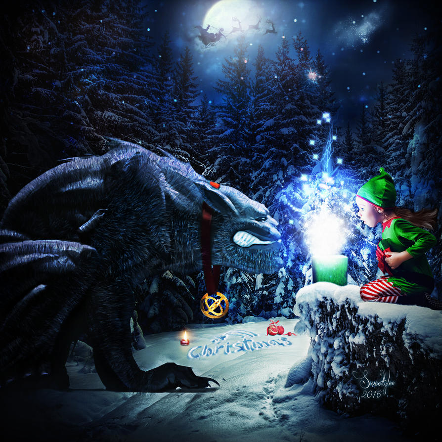 Christmas sweet beast by Sweetlylou