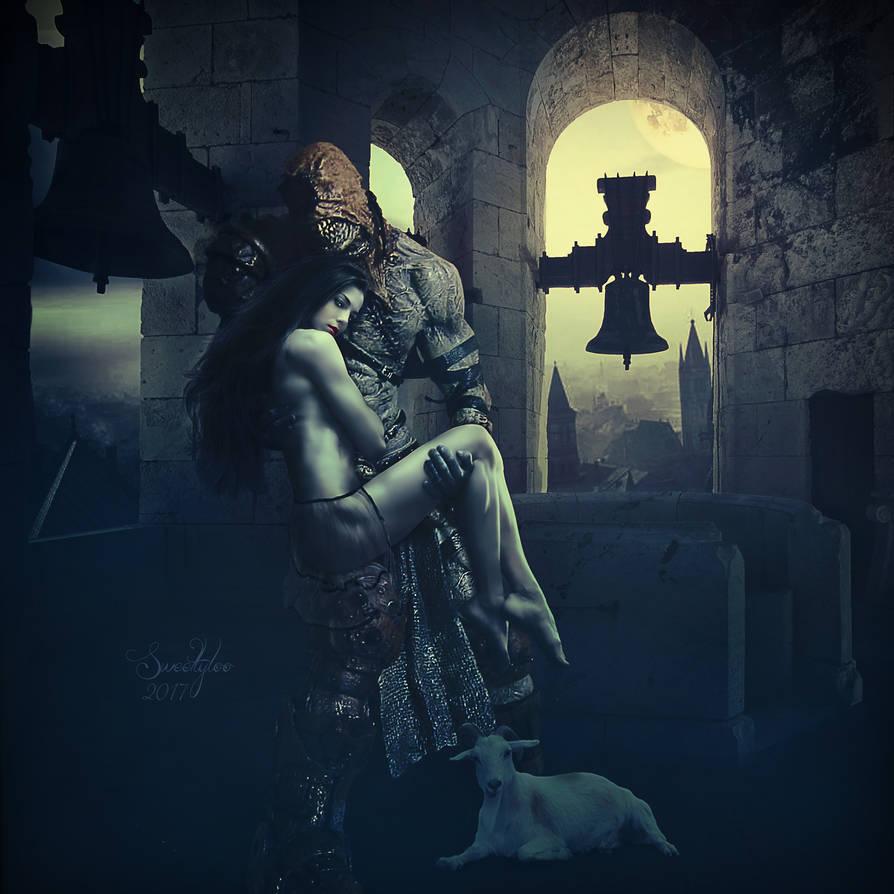 Casimodo and Esmeralda by Sweetlylou