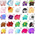 Mass Attack of Kirby Adopts-0/25 (Points/Paypal)