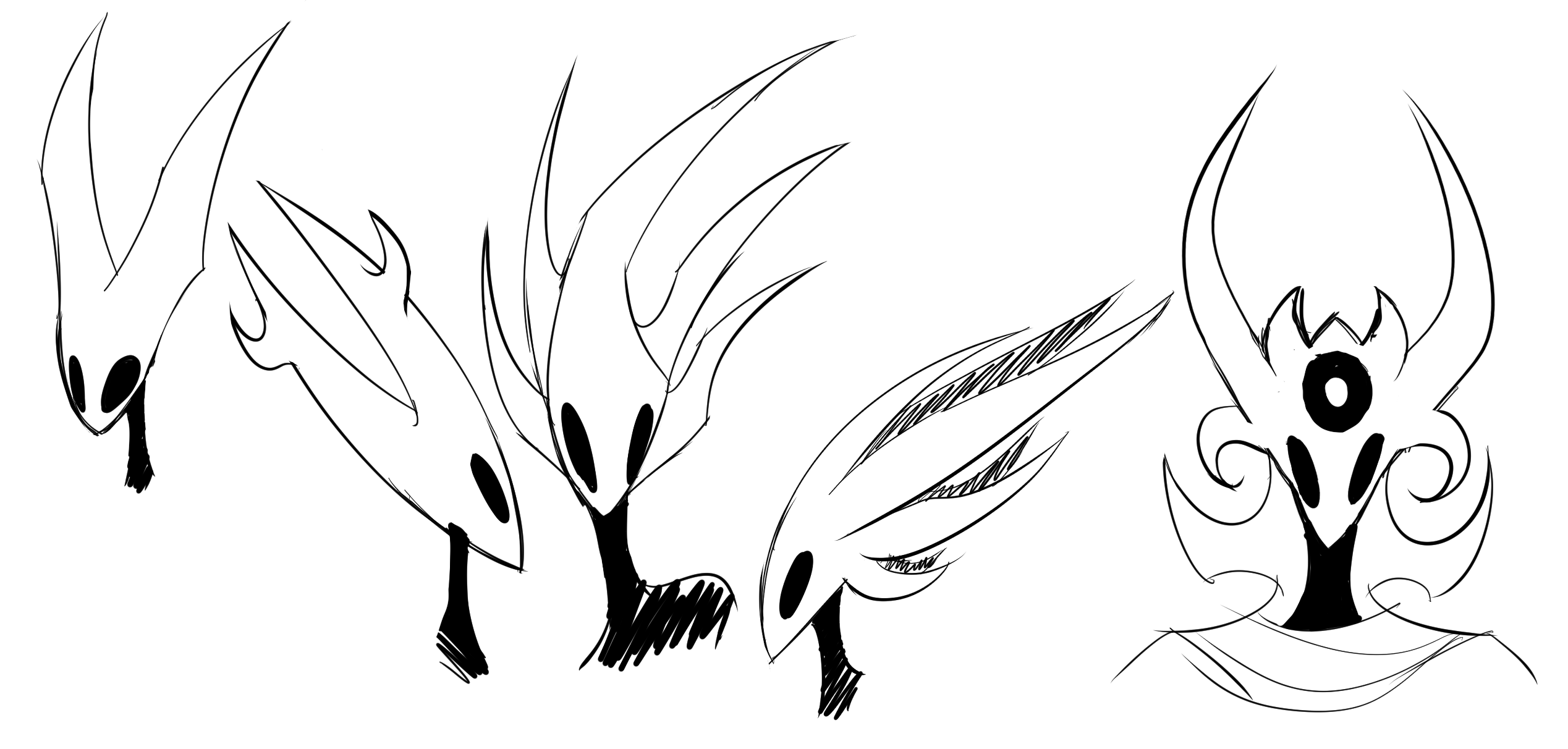 Hollow Knight Character Concepts (FREE! 3/5 OPEN)