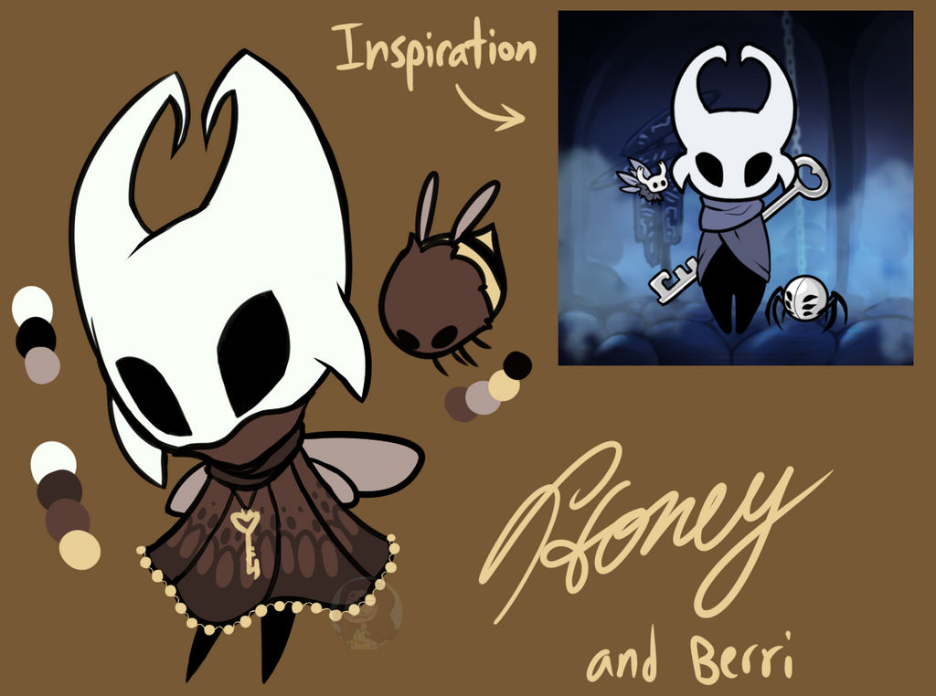 Honey and Berri - Hollow Knight Characters