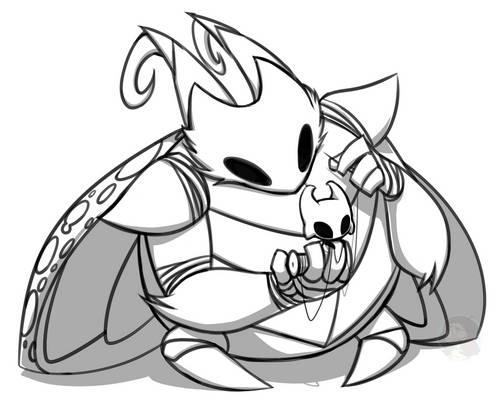 A Little Helper - Hollow Knight Fan Characters