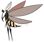 Adult Honey - Hollow Knight Fan Character