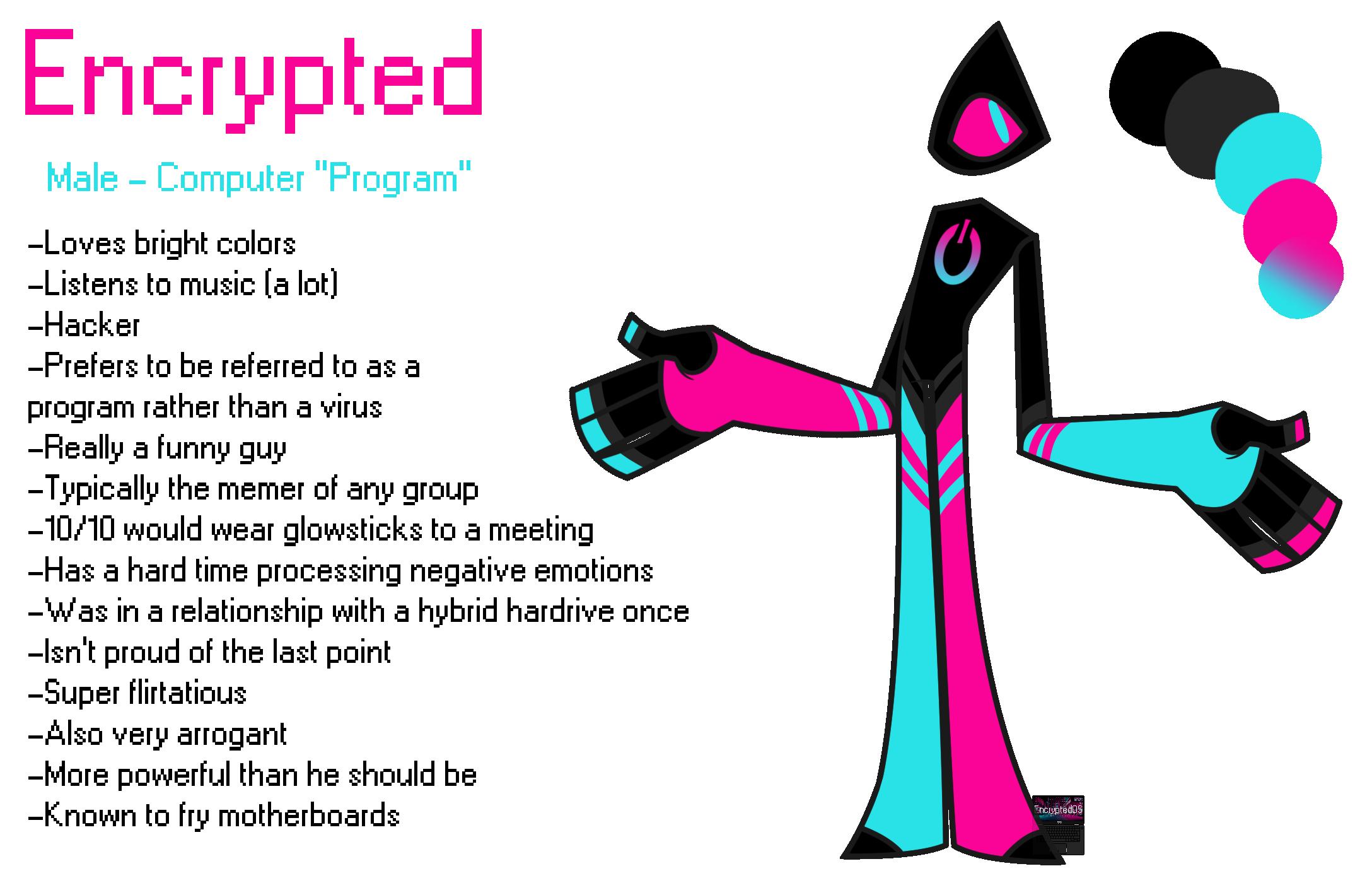 Encrypted - Mascot