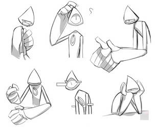 Encrypted sketches