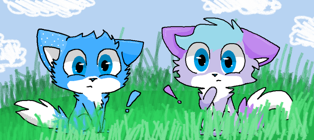 Blue And Fluffy by FluffyPuffthekitty