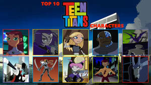 My Top 10 Teen Titans Characters Meme