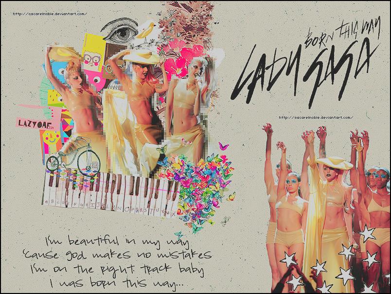 Gaga Performance 2011 by oscarelnoble