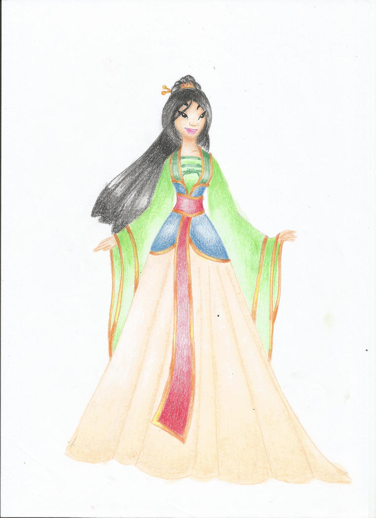 mulan pink dress pictures - 762×1048