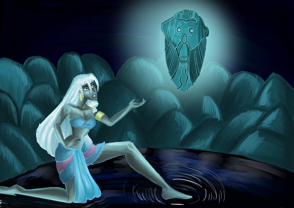 Disney: Kida princesse of Atlantis by Laefey