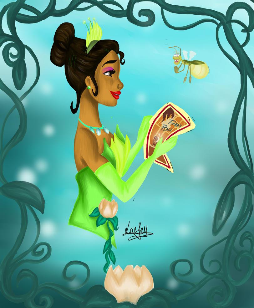 Princess Disney: Nostalgia Tiana by Laefey