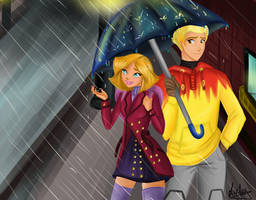 [ Clover x Martin] An Appointment In The Rain by Laefey