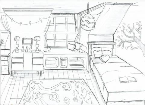 [ Background ] Bedroom Diana