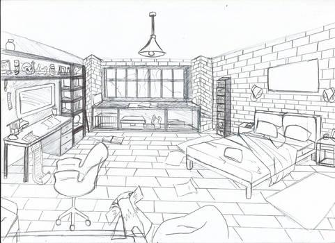 [ Background ] Bedroom Martin