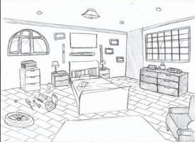 [ Background ] Bedroom Josh by Laefey