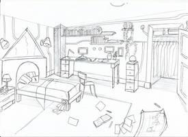 [ Background ] Bedroom Brett by Laefey