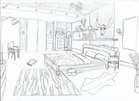 [ Background ] Bedroom Java by Laefey