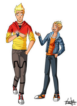 [Martin Mystery ] Martin and Billy Season 1 Outfit