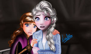 [ Frozen 2 ] Drowing of Their Parent -Part 4