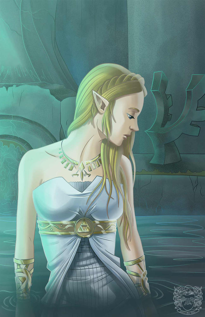 Hylian Goddess by JamesArtVille