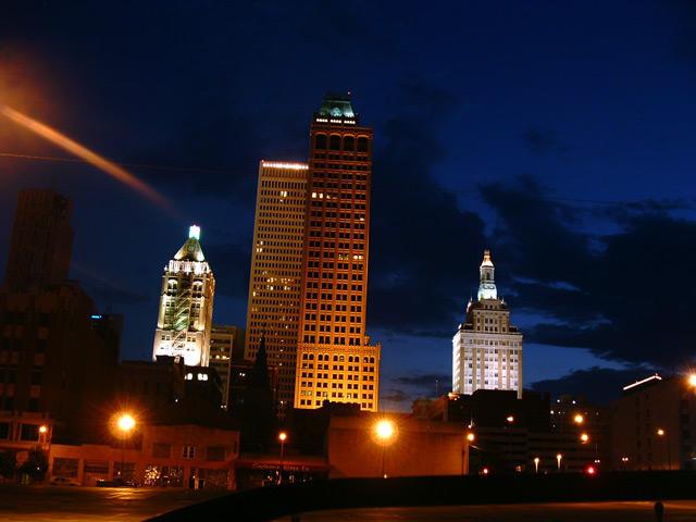 Downtown Tulsa Oklahoma by dial