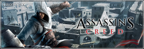 Assassin's Creed Sig by PervertedFoxxy