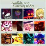 Summary of Art - 2011