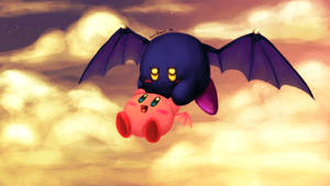 Fly on your own Kirby