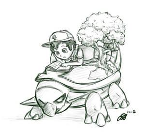 Dipper and Torterra