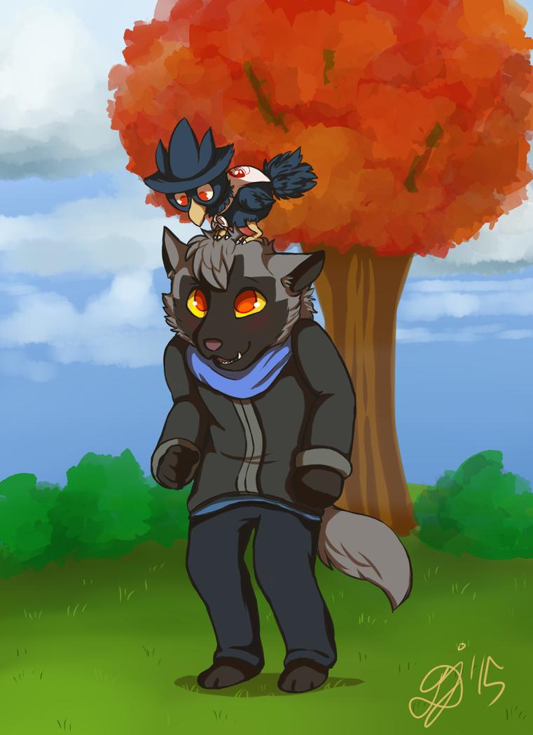 PKMN Skies: H-hey there! by LoveBobu