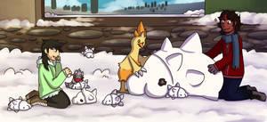 {PTS} Snow Snoms