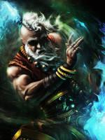 Monk / Diablo 3 Fan art by Wonderis